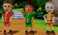 Abby, Mike and Jessie in Board Game Island