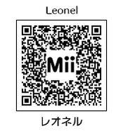 HEYimHeroic 3DS QR-042 Leonel