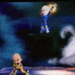 In <i>Super Smash Bros. For Nintendo 3DS</i> with the boxing champion in <a href=