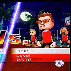 Cole Wii Sports Wiki Fandom Powered By Wikia
