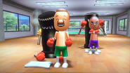 Marco in rhythm boxing