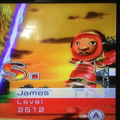 James sword fighting at Dusk.