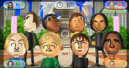 Rainer, Sota, Steph, Tatsuaki, Eddy, Megan, Susana, and George featured in Smile Snap in Wii Party