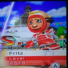 Fritz in Swordplay Speed Slice.