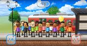 Lucia, Hiroshi, Barbara, Tatsuaki, Pierre, Ian, Haru, Shinnosuke, Tommy, Daisuke, Miguel, Theo, Sarah, Kentaro, Matt, and Andy featured in Commuter Count in Wii Party