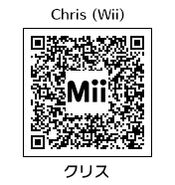 HEYimHeroic 3DS QR-021 Chris-Wii