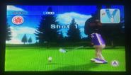 Jackie in Golf