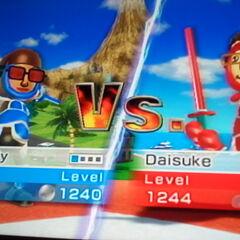 Another photo of Daisuke In Swordplay Duel