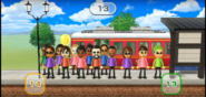 Rachel, Sakura, Victor, and Theo featured in Commuter Count in Wii Party