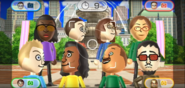 Jackie, Yoshi, David, Marco, and Akira featured in Smile Snap in Wii Party