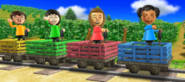 Miyu, Abby, Rin, and Luca in Risky Railroad