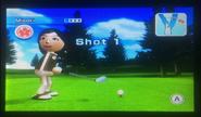 Misaki in Golf