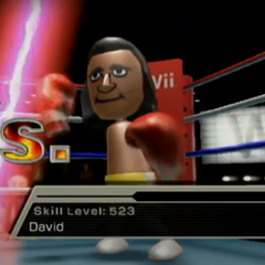 David in Boxing.