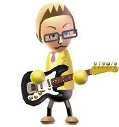 Cory on guitar