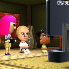 Pit and Xiao-Tong in Tomodachi Life.
