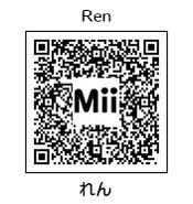 HEYimHeroic 3DS QR-007 Ren