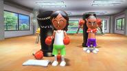 Haru in rhythm boxing