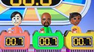 Takumi, Matt and Sakura participating in Stop Watchers in Wii Party
