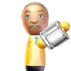 A Wii Music artwork of James.