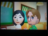 Misaki and Abe in Tomodachi Life