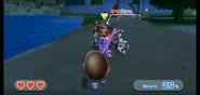 Miyu wearing Purple Armor in Swordplay Showdown