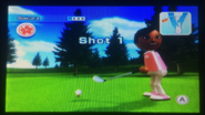 Sakura in Golf