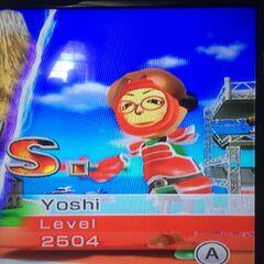 Yoshi Sword fighting at High Noon.