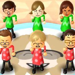 Luca in Swap Meet with Lucia, Yoko, Oscar, Megan, and Daisuke.