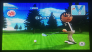 Susana in Golf