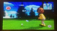 Mia in Golf