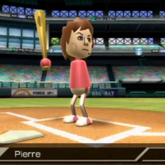 Pierre in Baseball.