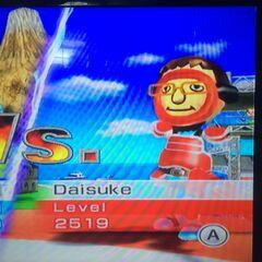 Daisuke sword fighting at High Noon