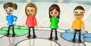 Midori, Abby, Fumiko, and Shohei in Animal Tracker