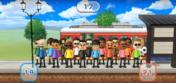 Vincenzo, Hiromi, Miyu, Ren, Patrick, Shouta, Tommy, George, and Steve featured in Commuter Count in Wii Party