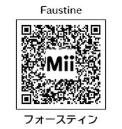 HEYimHeroic 3DS QR-100 Faustine