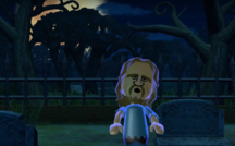 Ryan as a Zombie in Zombie Tag in Wii Party