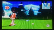 Sarah in Golf