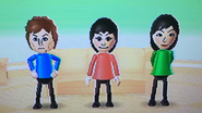 Pierre, Rin and Misaki participating in Hide n Hunt in Wii Party