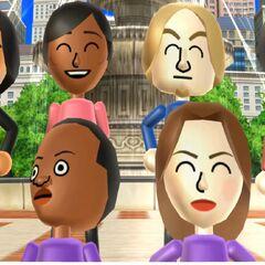 Tatsuaki with Sakura, Eddy, Victor, Greg, Theo, Elisa, and Nelly.