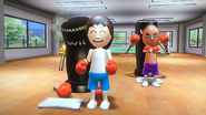 Rin in rhythm boxing