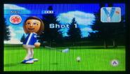 Abby in Golf