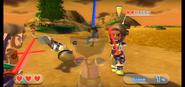 Hayley wearing Purple Armor in Swordplay Showdown