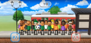 Matt, Susana, Marco, Chika, Yoko, Kentaro, Sota, Oscar, Sandra, Akira, and Alex featured in Commuter Count in Wii Party