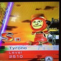 Tyrone swordfighting at Dusk.