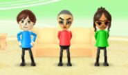 Emily, Takashi, and Chika in Hide n Hunt