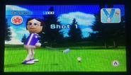 Giovanna in Golf