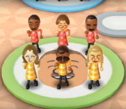 James, Yoshi, Andy, Miguel, and Holly featured in Swap Meet in Wii Party