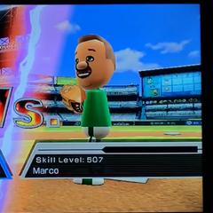 Marco in Baseball.