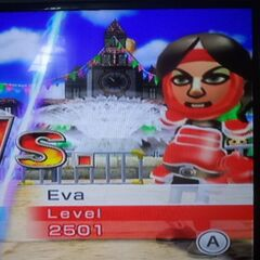Eva in Swordplay Speed Slice.