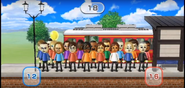 Victor, Ryan, Sandra, Ai, Andy, Yoko, Eddy, and Patrick featured in Commuter Count in Wii Party